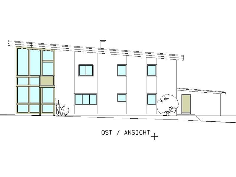 passivhaus mit pultdach und garage baumeister kickinger. Black Bedroom Furniture Sets. Home Design Ideas